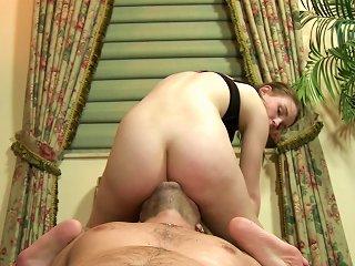 Smooth Atm Along Her Obedient Boyfriend