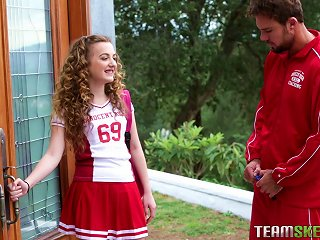 Curly Haired College Bitch Receives A Hardcore Fucking