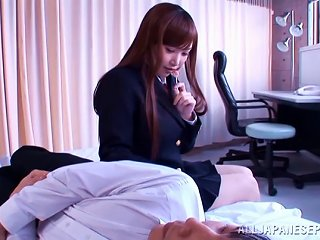 Teen Japanese Babe Rides This Guy Cowgirl Style Until He Has An Orgasm