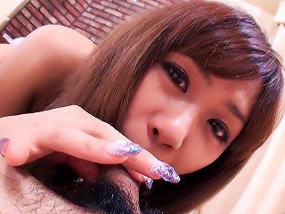 Japanese Schoolgirl Nozomi Kahara Turned Into A Woman