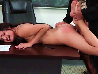 Adria Rae Gets Pussy Ravished By Horny Teacher