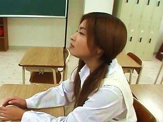 Sexy Saya Hyozaki Naughty School Girl