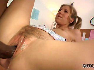 Chastity Lynn Has Sex With The School Janitor After School