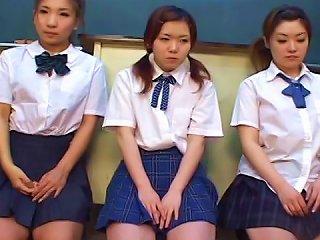 Asian Blowjob By A Slender Schoolgirls