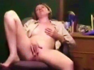 School Teacher Masturbates