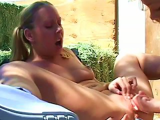 Julie Knight And Mariah Cherry Are Fucking Outdoors