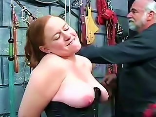 Fat Schoolgirl Into Kinky Dungeon Play